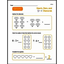 Subtraction Worksheets - Free Printable Math PDFs Worksheet #104
