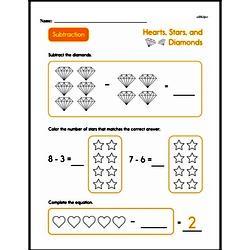 Second Grade Subtraction Worksheets Worksheet #3