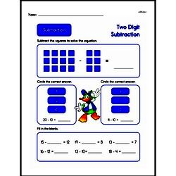 Subtraction Worksheets - Free Printable Math PDFs Worksheet #329