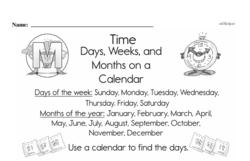 Free Second Grade Time PDF Worksheets Worksheet #4