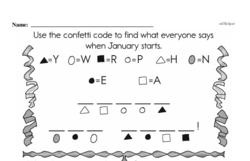 Free Second Grade Time PDF Worksheets Worksheet #30