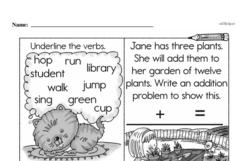 Free Second Grade Time PDF Worksheets Worksheet #27