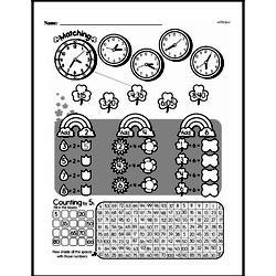 Free Second Grade Time PDF Worksheets Worksheet #42