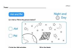 Second Grade Time Worksheets Worksheet #7