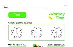 Second Grade Time Worksheets Worksheet #10