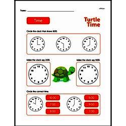 Second Grade Time Worksheets Worksheet #11