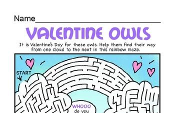 Valentine Mazes