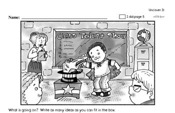 Second Grade Back to School Activity Book #1