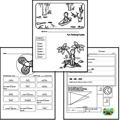 Critical Thinking Challenge Workbook