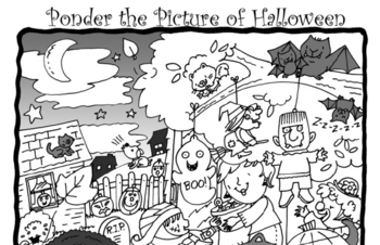 Ponder the Halloween Picture