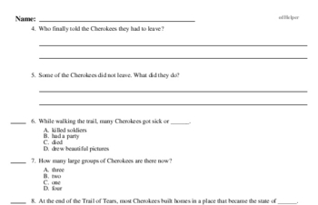 Second Grade Thanksgiving, Pilgrims, and Native Americans Reading Comprehension Workbook with Math
