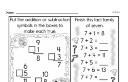 Free Third Grade Addition PDF Worksheets Worksheet #27