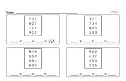 Free Third Grade Addition PDF Worksheets Worksheet #30