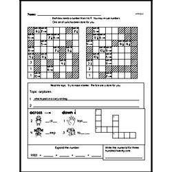 Free Third Grade Addition PDF Worksheets Worksheet #7