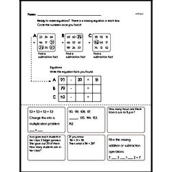 Free Third Grade Addition PDF Worksheets Worksheet #36
