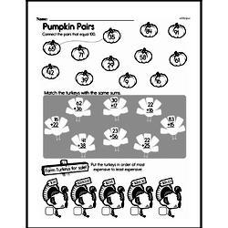 Free Third Grade Addition PDF Worksheets Worksheet #86