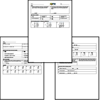 Assessment Workbook (all teacher worksheets - large PDF)