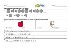 Starting Third Grade - Review of Second Grade Materials