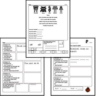 Coding for Kids Workbook #8