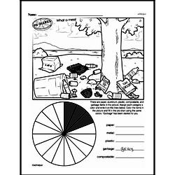 Third Grade Data Worksheets Worksheet #23