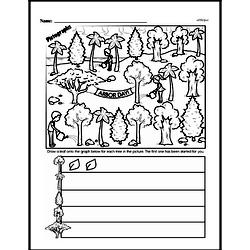 Third Grade Data Worksheets Worksheet #24