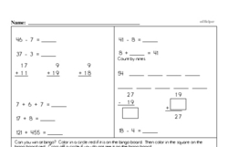Free 3.OA.B.5 Common Core PDF Math Worksheets Worksheet #1