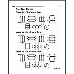 Third Grade Fractions Worksheets - Fractions and Parts of a Set Worksheet #9