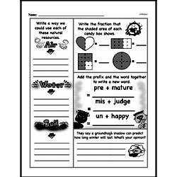 Free Third Grade Fractions PDF Worksheets Worksheet #32