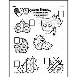 Free Third Grade Fractions PDF Worksheets Worksheet #40