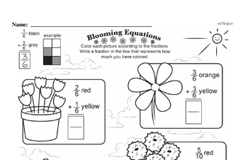 Fractions Workbook (all teacher worksheets - large PDF)