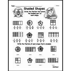 Free Third Grade Fractions PDF Worksheets Worksheet #14