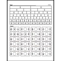 Free Third Grade Fractions PDF Worksheets Worksheet #63