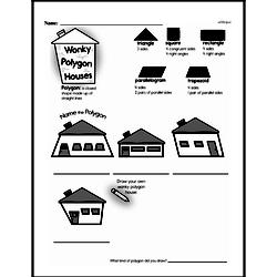 Free Third Grade Geometry PDF Worksheets Worksheet #26