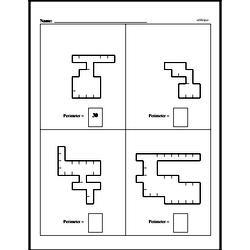 Free Third Grade Geometry PDF Worksheets Worksheet #1