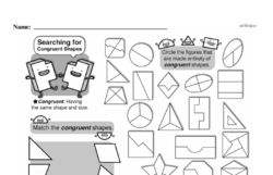 Free Third Grade Geometry PDF Worksheets Worksheet #5