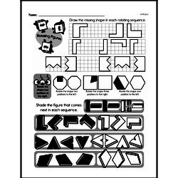 Free Third Grade Geometry PDF Worksheets Worksheet #9