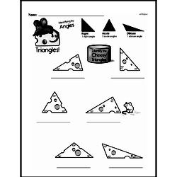 Free Third Grade Geometry PDF Worksheets Worksheet #21