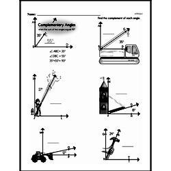 Free Third Grade Geometry PDF Worksheets Worksheet #11