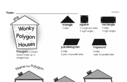 Free Third Grade Geometry PDF Worksheets Worksheet #26