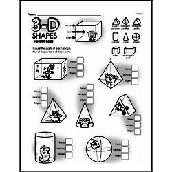 Free Third Grade Geometry PDF Worksheets Worksheet #28
