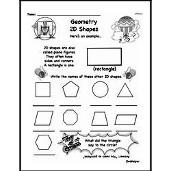 Geometry Worksheets - Free Printable Math PDFs Worksheet #184