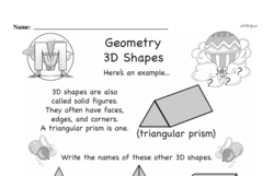 Geometry Worksheets - Free Printable Math PDFs Worksheet #84
