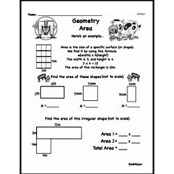 Geometry Worksheets - Free Printable Math PDFs Worksheet #314