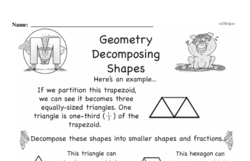 Geometry Worksheets - Free Printable Math PDFs Worksheet #323