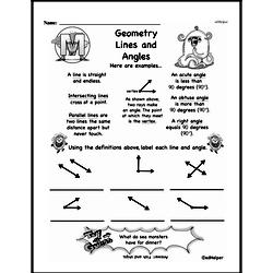 Geometry Worksheets - Free Printable Math PDFs Worksheet #234