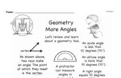 Geometry Worksheets - Free Printable Math PDFs Worksheet #157