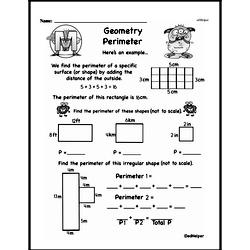 Geometry Worksheets - Free Printable Math PDFs Worksheet #303