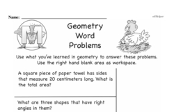 Geometry Worksheets - Free Printable Math PDFs Worksheet #100