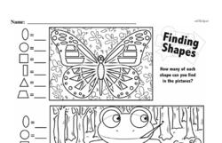Free Third Grade Geometry PDF Worksheets Worksheet #52