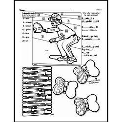 Free Third Grade Math Challenges PDF Worksheets Worksheet #81